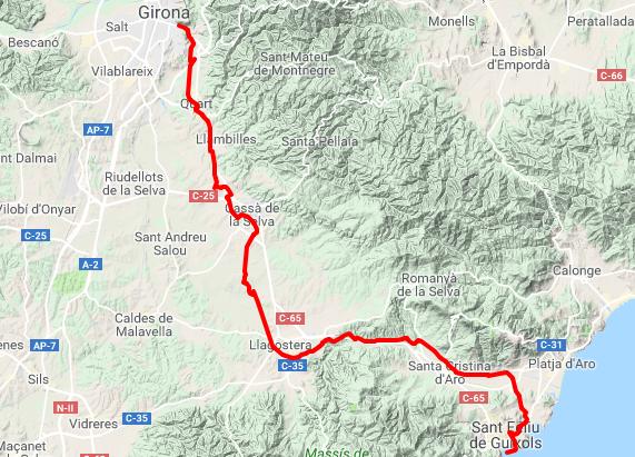 Mapa ruta Carrilet 2